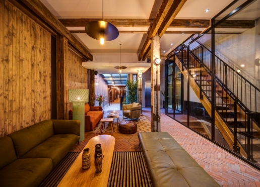 From timber trade to hotel